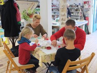 Glashütte Annenwalde - Familienkurs Fusing-Glasgestaltung