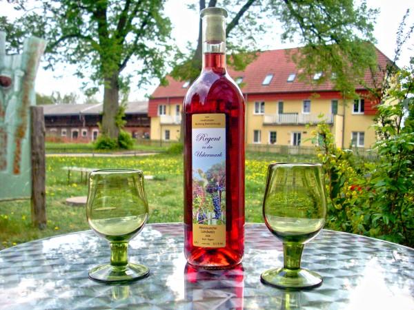 Rose-Wein aus der Uckermark
