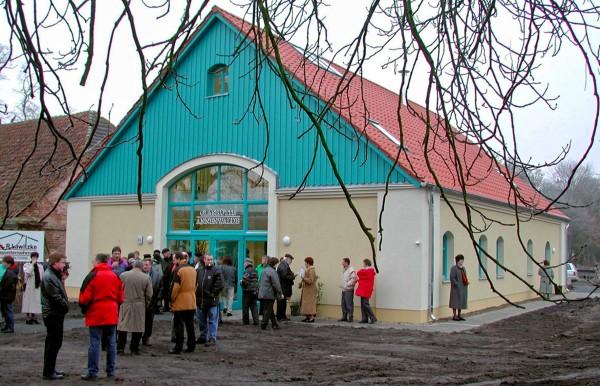 Glashütte Annenwalde - Eröffnung im Jahr 2000