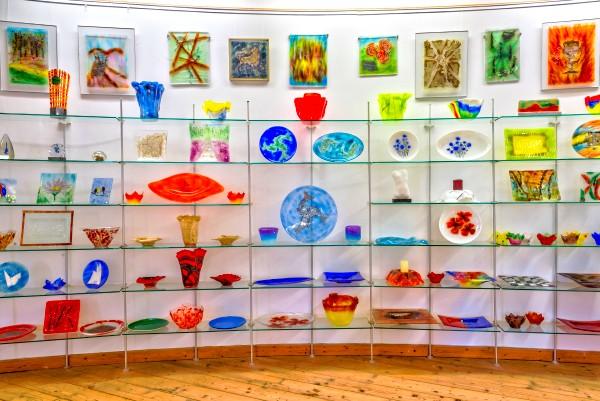 Glashütte Annenwalde - Glaskunst-Galerie