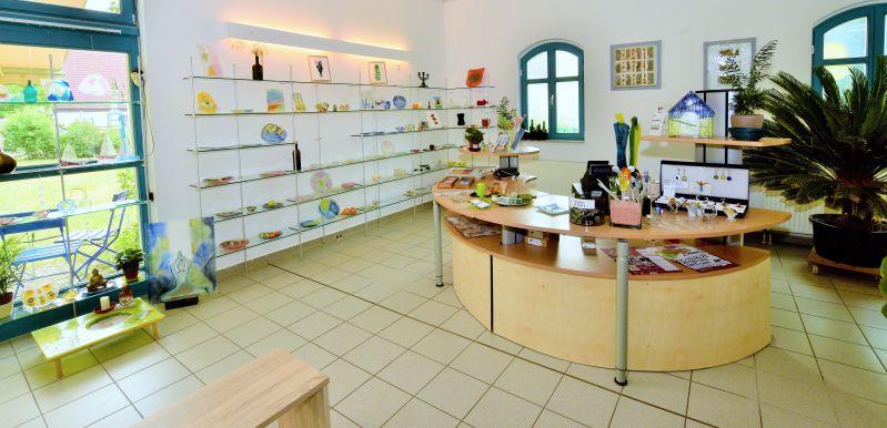 Glashütte Annenwalde - Eingangsbereich