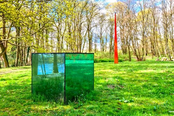 Glashütte Annenwalde - Glaskunst im Park