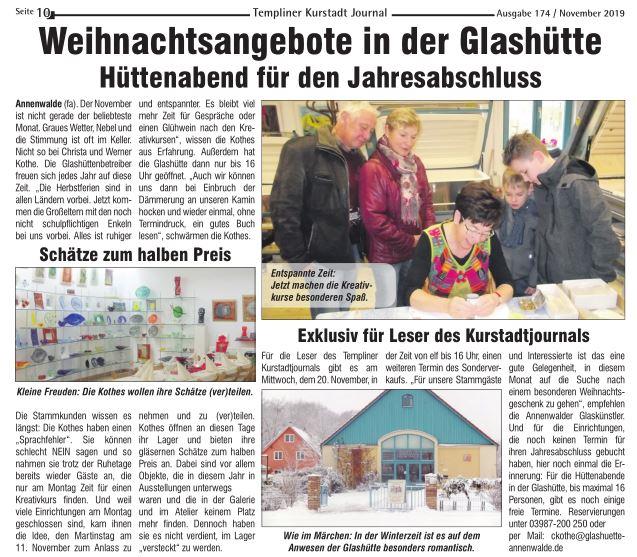 Kurstadt-Journal Templin