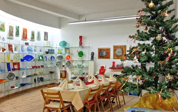 Weihnachten in der Glashütte Annenwalde